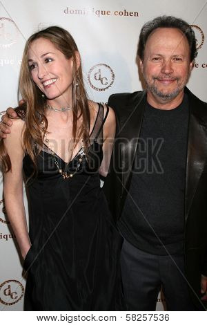 Dominique Cohen and Billy Crystal at the grand opening of the Dominique Cohen Flagship Jewelry Store. 501 N. Robertson Blvd., Los Angeles, CA. 04-05-07