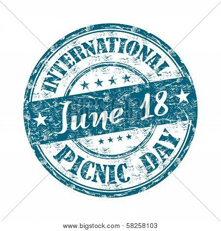 International Picnic Day stamp