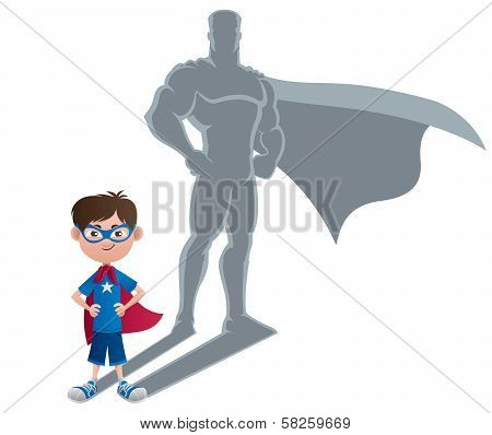 Boy Superhero Concept