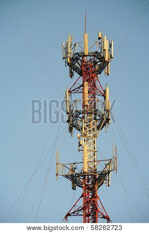 Top Half Of A Cell Phone Antenna