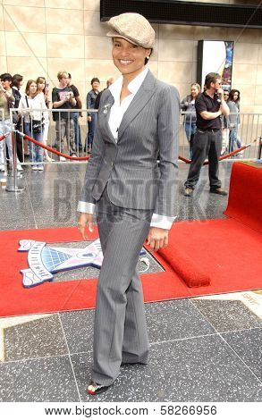 Victoria Rowell at the ceremony honoring Forest Whitaker with the 2,335th Star on the Hollywood Walk of Fame. Hollywood Boulevard, Hollywood, CA. 04-16-07