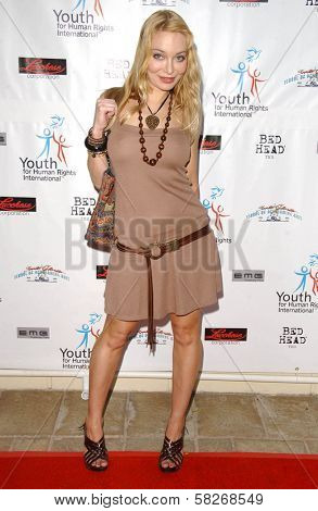 Lorielle New at a Fashion and Music Extravaganza Promoting Human Rights for Youth. Church of Scientology Celebrity Centre Pavilion, Los Angeles, CA. 04-14-07