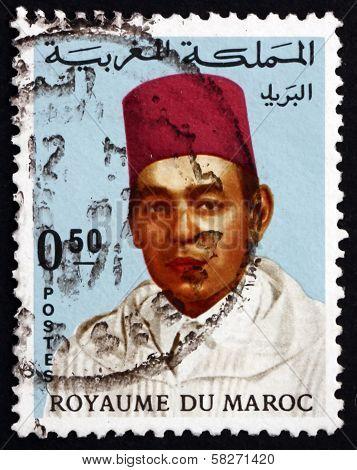 Postage Stamp Morocco 1968 Hassan Ii, King Of Morocco