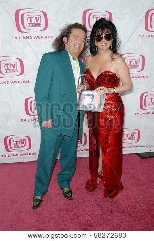 Butch Patrick and guest at the 5th Annual TV Land Awards. Barker Hangar, Santa Monica, CA. 04-14-07