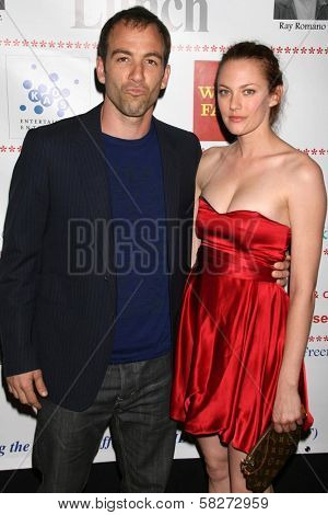 Bryan Callen and Amanda Humphrey at the