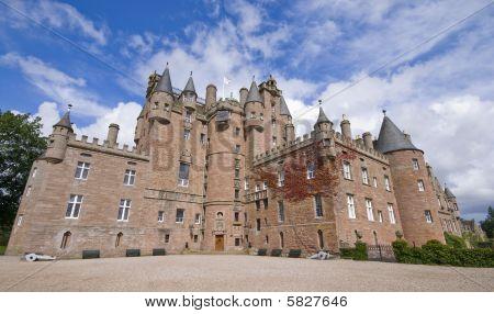Glamis Castle in Schottland