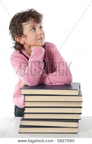 Adorable Child Student