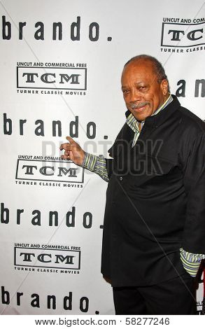 Quincy Jones at the