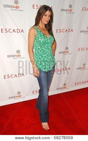 Samantha Harris at an Escada 2007 Fall Winter Sneak Preview to Benefit Step Up Women's Network. Beverly Hills Hotel, Beverly Hills, CA. 04-19-07