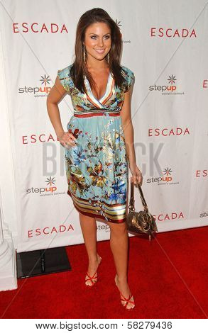 Nadia Bjorlin at an Escada 2007 Fall Winter Sneak Preview to Benefit Step Up Women's Network. Beverly Hills Hotel, Beverly Hills, CA. 04-19-07