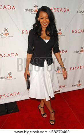 Denyce Lawton at an Escada 2007 Fall Winter Sneak Preview to Benefit Step Up Women's Network. Beverly Hills Hotel, Beverly Hills, CA. 04-19-07