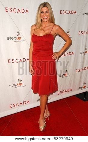 Lindsay Clubine at an Escada 2007 Fall Winter Sneak Preview to Benefit Step Up Women's Network. Beverly Hills Hotel, Beverly Hills, CA. 04-19-07