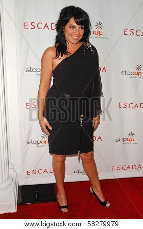 Sara Ramirez at an Escada 2007 Fall Winter Sneak Preview to Benefit Step Up Women's Network. Beverly Hills Hotel, Beverly Hills, CA. 04-19-07