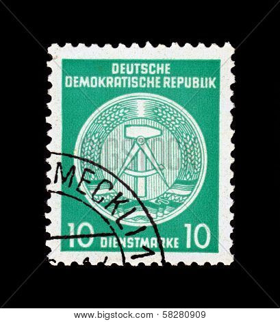 Gdr National Coat Of Arms