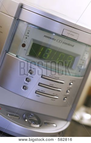 Clock Cd Radio