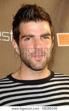 Zachary Quinto at the grand re-opening celebration of decadestwo. decadestwo, Los Angeles, CA. 07-18-07