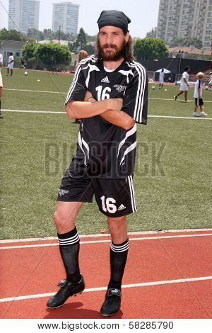 Santiago Cabrera at the Soccer for Survivors Celebrity Showcase Match. Beverly Hills High School, Beverly Hills, CA. 07-22-07