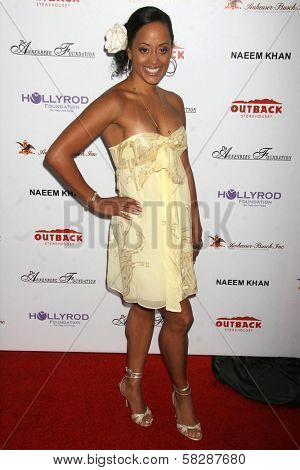 Essence Atkins at the DESIGNCARE 2007 Fundraiser to benefit those battling debilitating disease and life circumstances. Private Residence, Malibu, CA. 07-21-07