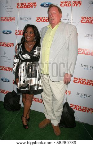 Sherri Shepherd and Jeffrey Jones at the Los Angeles premiere of