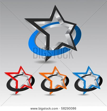 Star With Circle