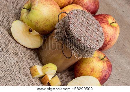 Fresh Made Applesauce