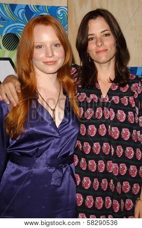 Lauren Ambrose and Parker Posey at