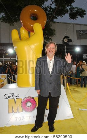 Matt Groening at the World Premiere of
