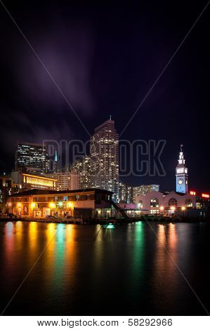 Clock Tower Of Ferry Building