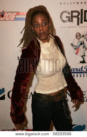 Debra Wilson at the Gridlock New Years Eve 2007 Party, Paramount Studios, Los Angeles, CA 12-31-06