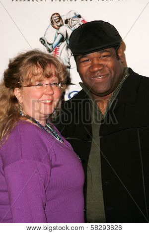 B.D. Freeman and wife at the Gridlock New Years Eve 2007 Party, Paramount Studios, Los Angeles, CA 12-31-06