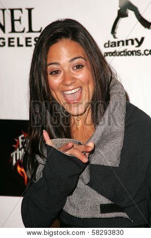 Camille Guaty at the Gridlock New Years Eve 2007 Party, Paramount Studios, Los Angeles, CA 12-31-06