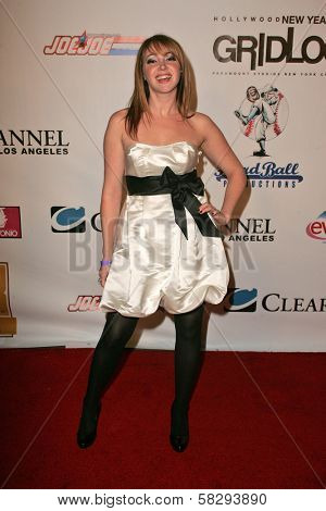 Jennifer Tisdale at the Gridlock New Years Eve 2007 Party, Paramount Studios, Los Angeles, CA 12-31-06