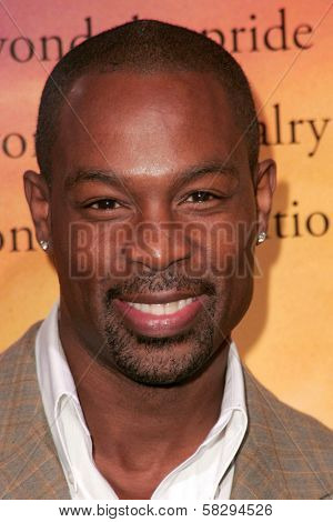 Darrin Henson at the world premiere of
