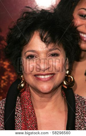 Debbie Allen at the world premiere of