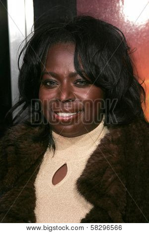 Angie Stone at the world premiere of