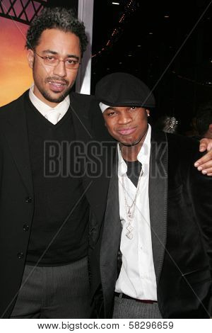 Sylvain White and Ne-Yo at the world premiere of