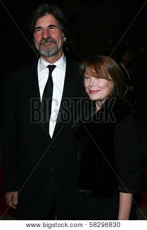 Jack Fisk and Sissy Spacek at the 18th Annual International Palm Springs Film Festival Gala Awards. Palm Springs Convention Center, Palm Springs, CA. 01-06-07