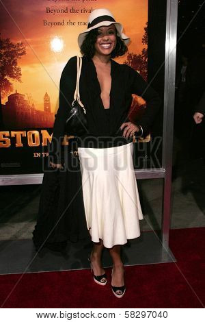 Essence Atkins at the world premiere of