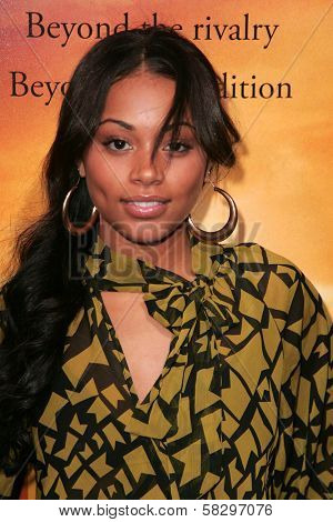 Lauren London at the world premiere of