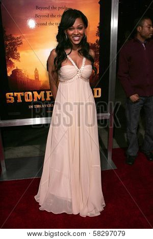 Meagan Good at the world premiere of