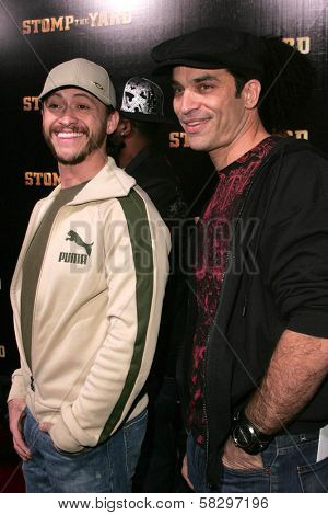 Clifton Collins Jr. and Johnathon Schaech at the world premiere of