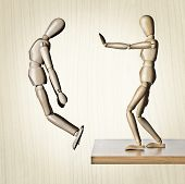 image of hustle  - Two manikins - JPG
