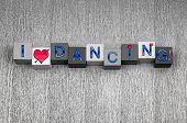picture of jive  - I Love Dancing - JPG