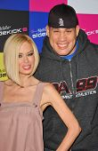 Jenna Jameson and Tito Ortiz at the launch of T-Mobile Sidekick ID, T-Mobile Sidekick Lot, Hollywood