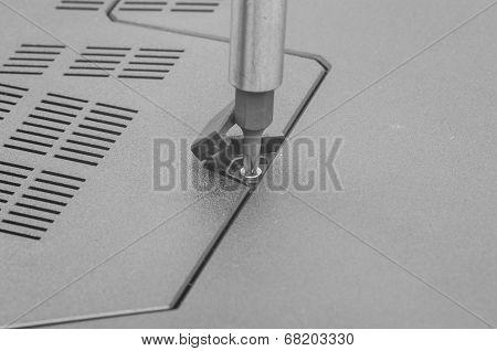 Repairing Laptop