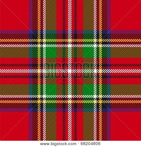 vector seamless tartan plaid pattern