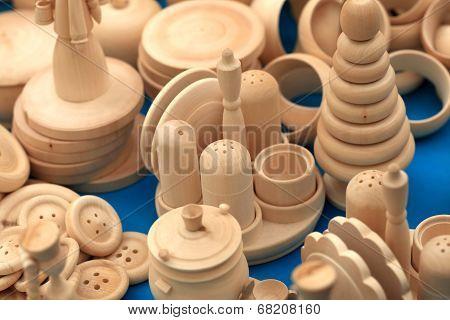 Carved Wooden Crafts