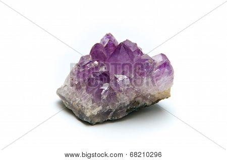 Purple Amethyst Crystal Cluster