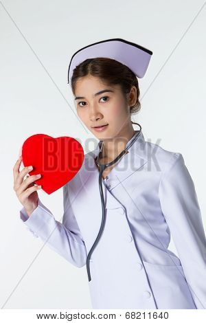 Beautiful Asian Nurse