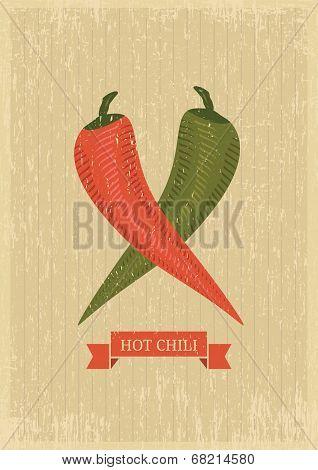 Hot Chili Poster
